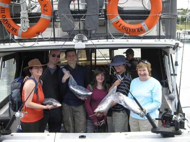 lake taupo fishing charter success